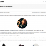 Interview sur le blog de l'application Ask Anna