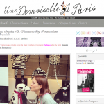 Interview sur le blog Une demoiselle à Paris